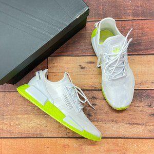 Adidas Men's NMD R1 V2 White Shoes